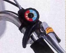 パンクしない自転車 災害用・防災用三輪自転車MG-TRW20NE 災害地面もパンクしないで走る三輪車 折りたたみ前輪20インチ、後輪16インチ ラコントゥル
