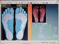 足裏バランス測定装置 フットルック ラコントゥル